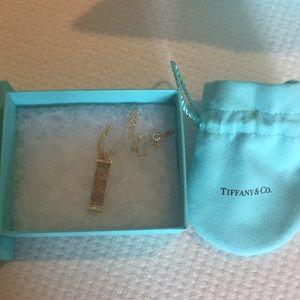 Never worn diamond necklace by Tiffany